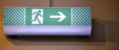 exit sign ID-100136446