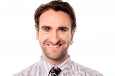 smiling man ID-100194422 stockimages
